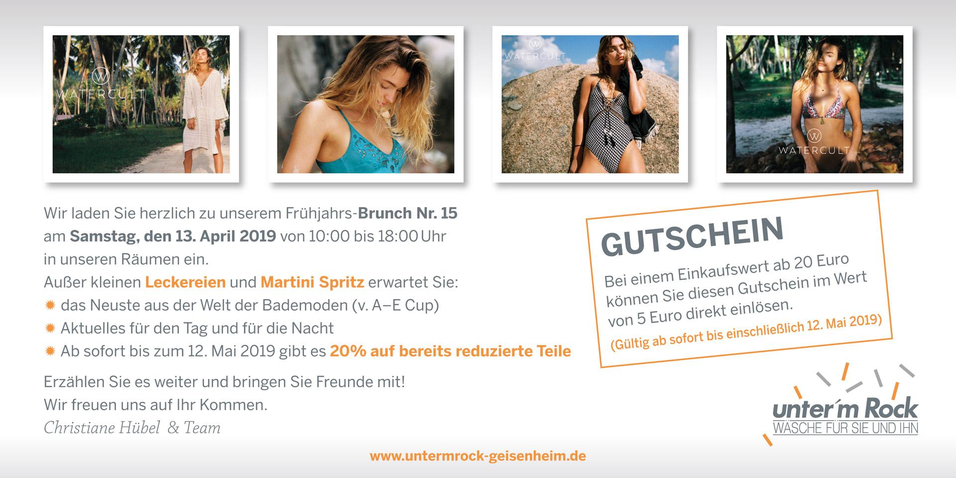 the best attitude 459c6 6ec14 unter'm Rock Geisenheim - Wäsche für SIE und IHN | Aktuelles
